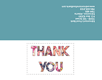 Edmontons Food Bank - Thank You Cards
