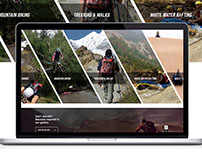 Adventure X - Responsive Website