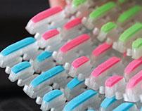 3D Printed Antimicrobal Scrubber