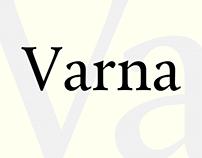 Font Varna | Шрифт Varna