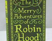 Robin Hood Book Cover Design