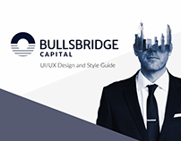 UX/UI Design for Bullsbridge Capital