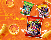 Toonies x Dragon Ball Super Packaging