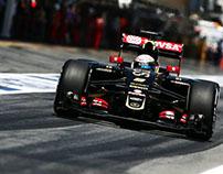 Concours casque de Romain Grosjean