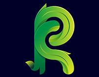 Letter R Design Presentation