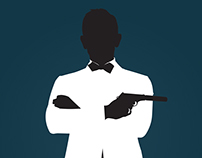 James Bond Minimalist Posters