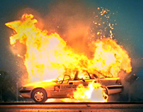 Renault Fluence - Explosion