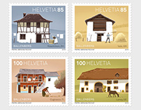 Timbres-poste suisses