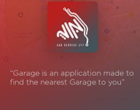 Brand design of Garage Application - iLamsat.com