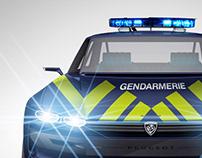 Peugeot e-Legend Police
