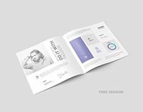 Free Square Brochure / Catalog Mock-Up