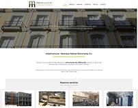 Diseño web · Empresa construcción