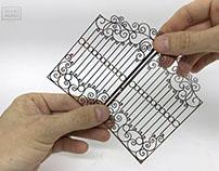 Paper Art Gates