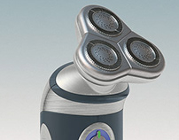 3D Concept Renderings : Electrical Shavers