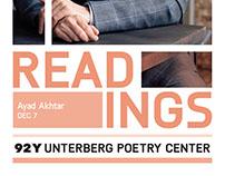 Unterberg Poetry Center Season Branding