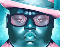 THE NOTORIOUS B.I.G. poster art