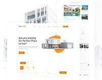 Real Home Landing Page | Website Design