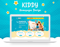 Kiddy - Homepages Design