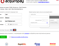 Adaptive paymentform