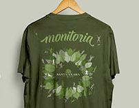 Camisetas uniformes Monitores - Santa Clara Eco Resort
