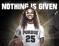 Purdue | 2015-16 Women's Basketball Senior Posters