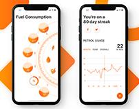Bike Fuel Consumption App