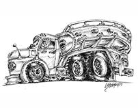 Caminhão Tanque Mercedes Benz