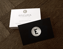 Epicuria  Club Brand Identity