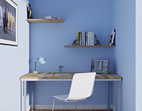 Office Space 3D Render