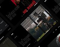Fully Rigged: B Side / Web Design