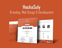 HackaSuly - Branding, Web Design & Development
