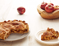 Breakfast in the sun with Apple Pie