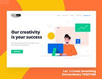 Website Landing Pages