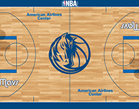 Dallas Mavs New Court Contest Designs