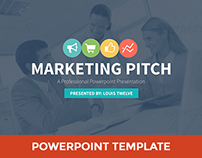 Marketing Slide Pitch Deck Powerpoint Presentation