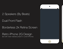 Next iPhone Model Concept (Gold)