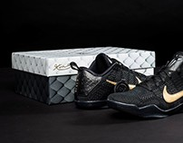 Nike Kobe Fade to Black Shoebox