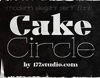 Free Font - Cake Circle