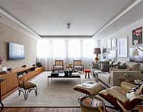 Apartamento LR by Messa Penna Arquitetura