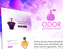Website for perfume store