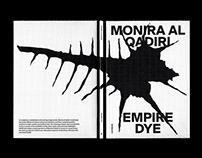 Monira Al Qadiri — Empire Dye, Catalogue Design 2020