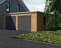 Einfamilienhaus - Visualisierung