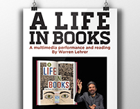 Warren Lehrer Performance of A Life in Books