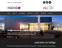 Indigo Website Re-design concept