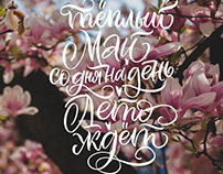 Spring calligraphy 2018