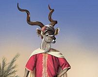 Illustrations - Fancy Animals