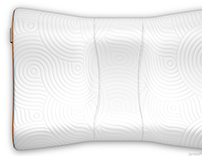 Tempur-Pedic Contour Pillow Renderings