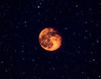 Moon - Amber