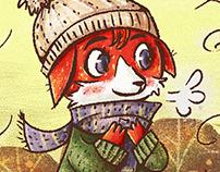 Autumn Fox + Speedpaint