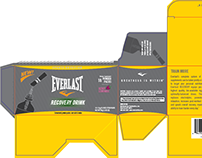 Everlast Nutrition Packaging Design